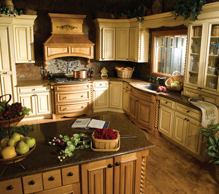 Centurion birch capela micka cabinets for Kitchens centurion
