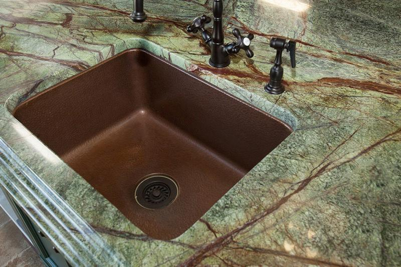 RAINFOREST Granite WITH COPPER Sink