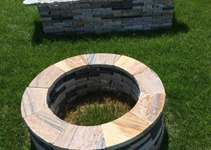 firepit-and-bench-recycled-granite