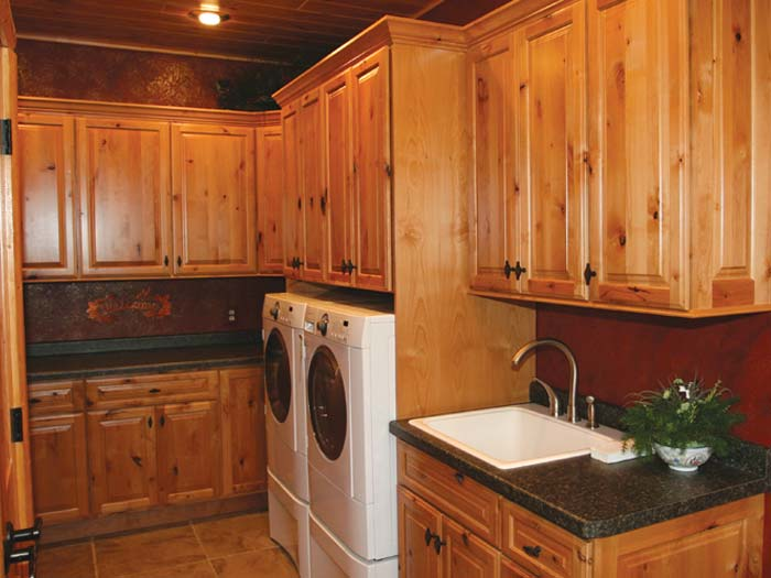 Laundry Rustic Alder Other Rooms